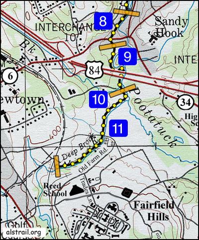 Trail segment map